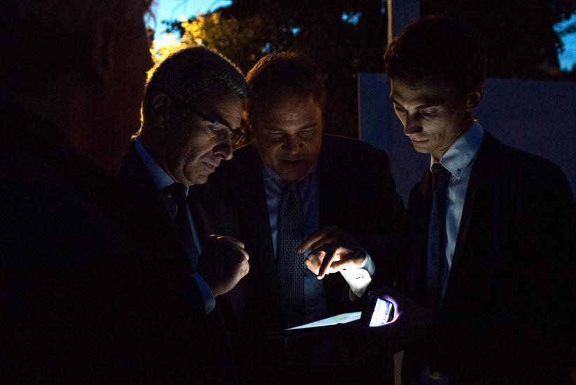 Étude du Plan Lumière de Valenciennes avec Monsieur le Maire Laurent Degallaix